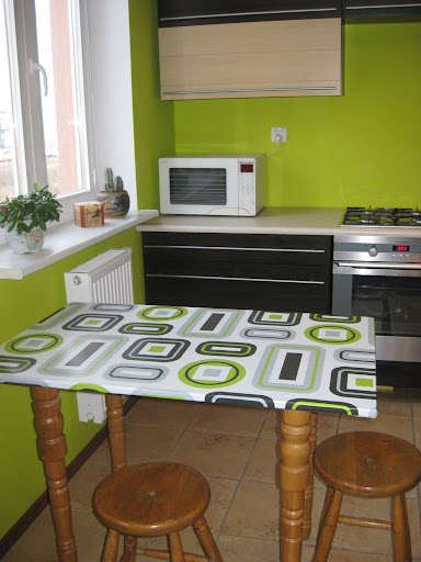 Retro kitchen oilcloth