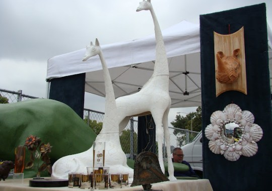 the estate of things chooses plaster animals