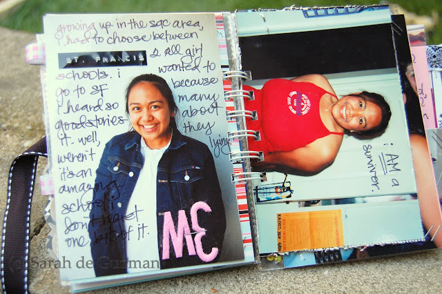 Heres some random pages documenting the dreaded high school years.