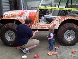 Painting Jeep_3