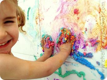 homemade puffy paint tutorial