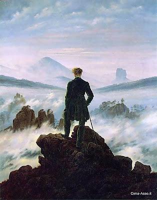 Infinito di Caspar David Friedrich