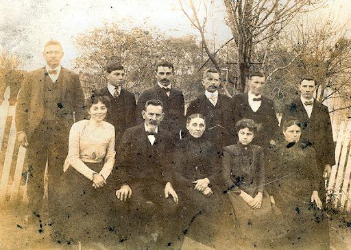 Evans family photo