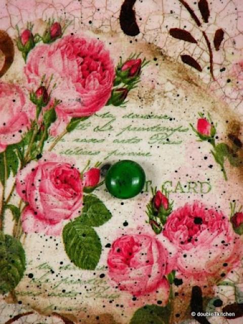 Decoupage s ružama