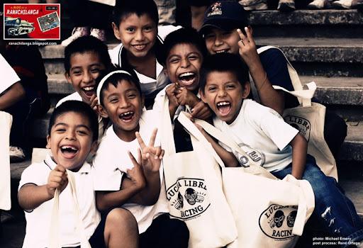 niños lucha libre racing