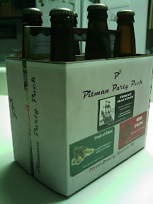 P3 The Pitman Party Pack, a six pack from Pitman Brewing
