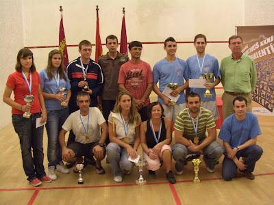 I Open Squash Lorca 2010