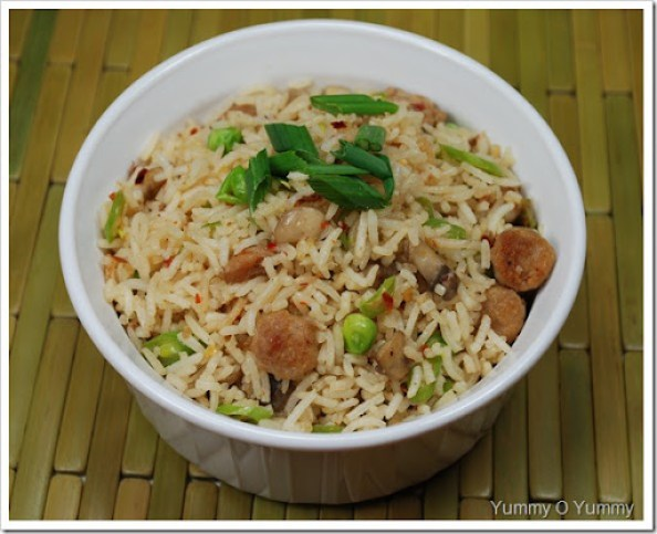 Sausage and Veggie Fried Rice