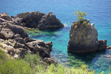corfu scenery