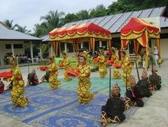 Seni Tari Pasambahan Somba Carano Budaya Kuansing Riau