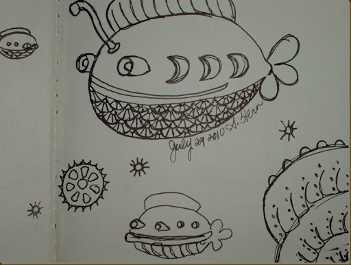 sketchbook project july six
