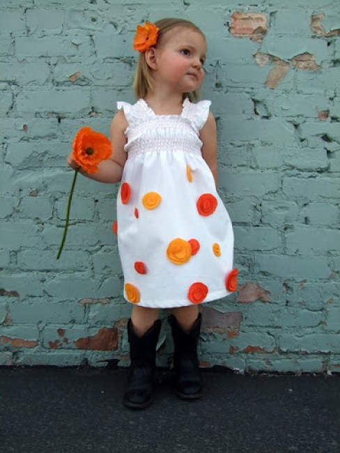 The Poppy Dress Tutorial {A Lemon Squeezy Home}