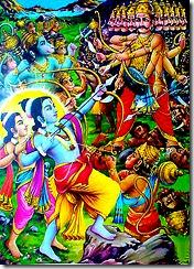 Battle against Ravana