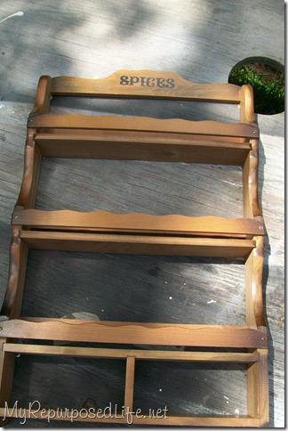 repurposed Spice rack 1