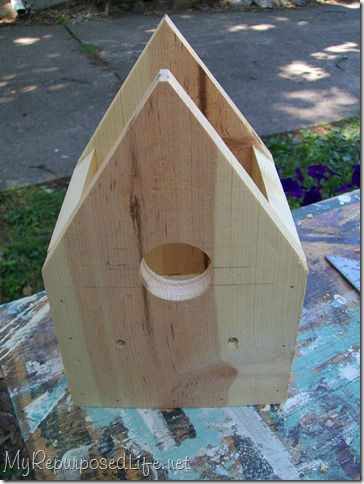 build easy birdhouse