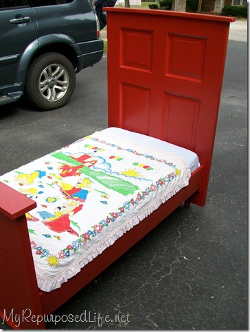 Red Toddler Bed