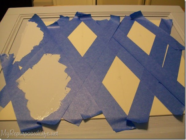 Using Scotch Blue Painter's Tape