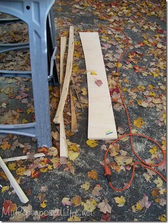 lumber drop offs