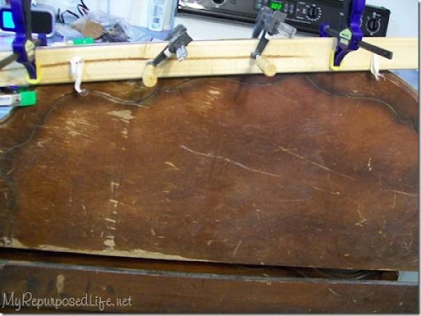 clamp bad veneer