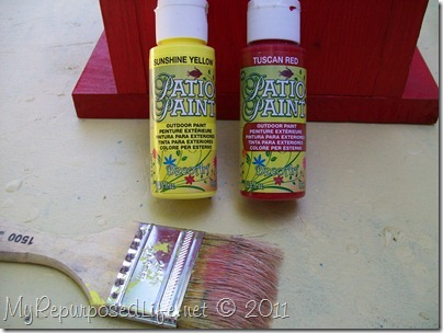 DecoArt patio paint