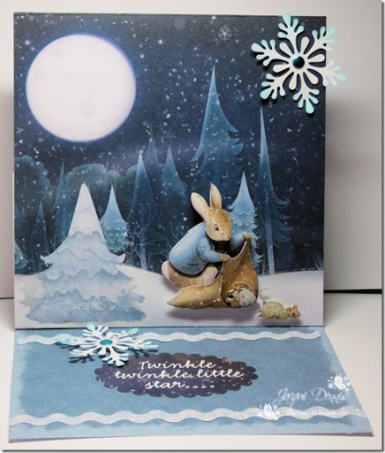 Peter Rabbit Easel Card Inspiration Crafters Companion