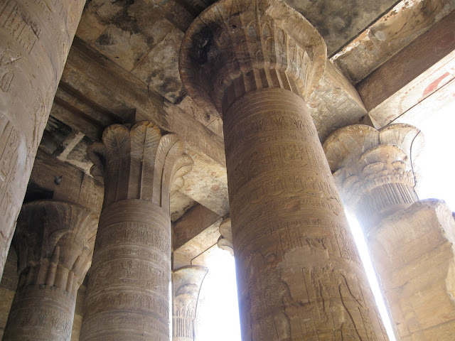 Hyperstole Hall at Edfu