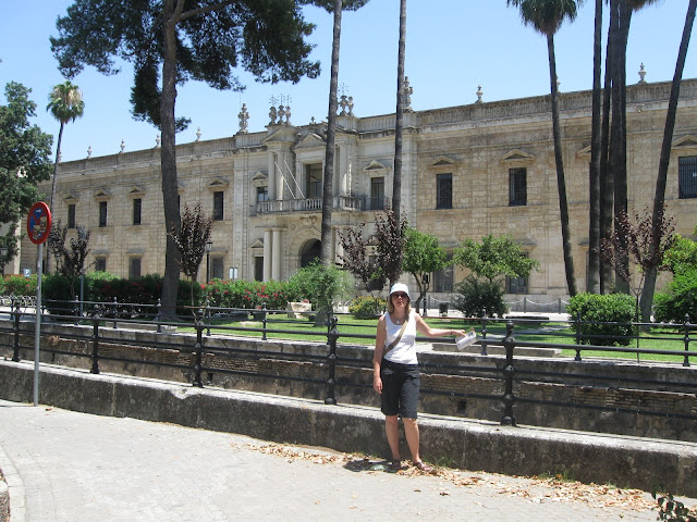 At the University of Seville