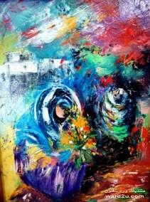 Image result for لوحات تشكيليه