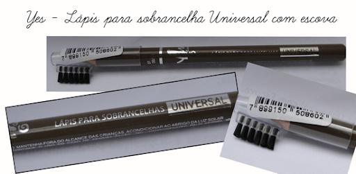 Yes lápis para sobrancelha