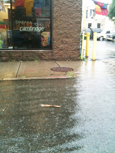 Flash floods in Cambridge