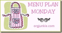 Monday Menu Plan
