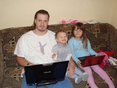 Карполан с детьми