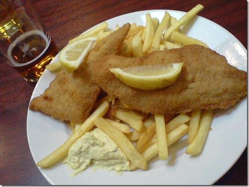 fisk og fritter