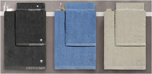 toallas y ropa de hogar de los diseñadores devota & lomba