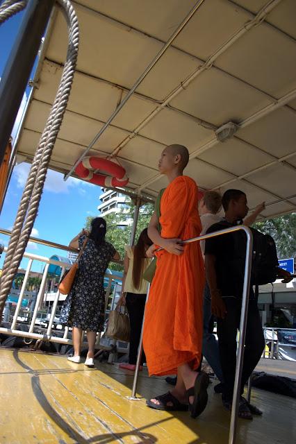 Young Monk Bangkok, Thailand
