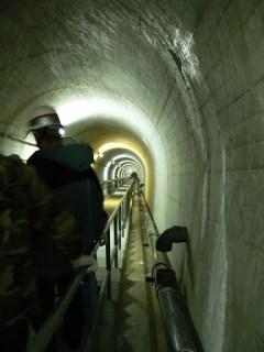 監査廊(下り階段)