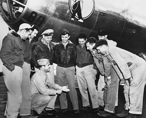U.S. Air Force Crew members of the Great Artiste
