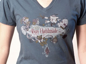 Buy Handmade shirt from PhippsArt, founder of the Handmade Movement