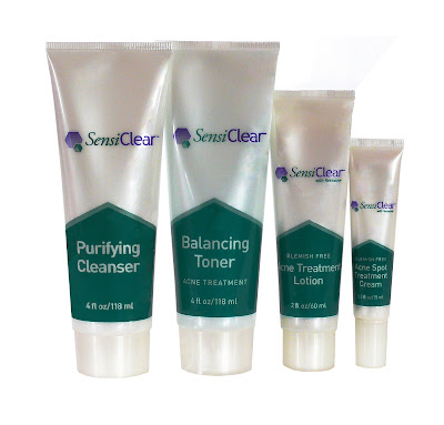 SensiClear acne treatment skin care system on Bionic Beauty