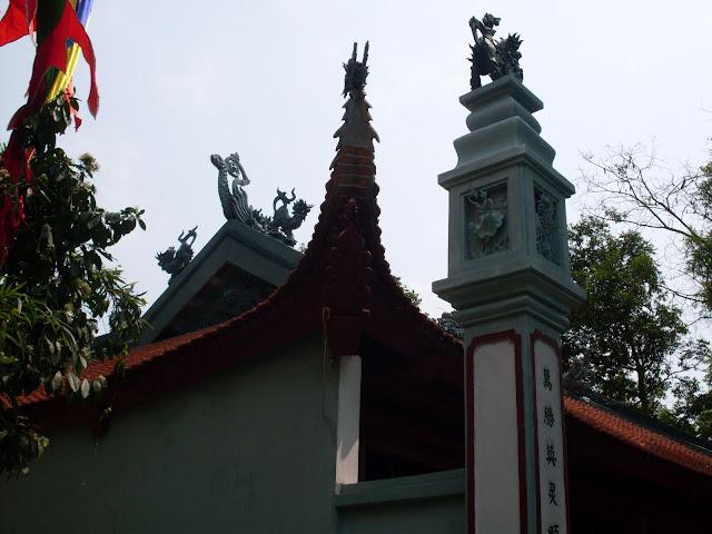 Nét kiến trúc đẹp của Miếu Thượng...