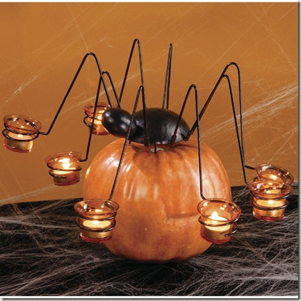 pumpkin tea light