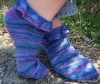 Medusa Cascade Socks