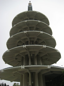 The Peace Pagoda in Japantown.