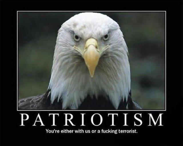 patriotism motivational poster