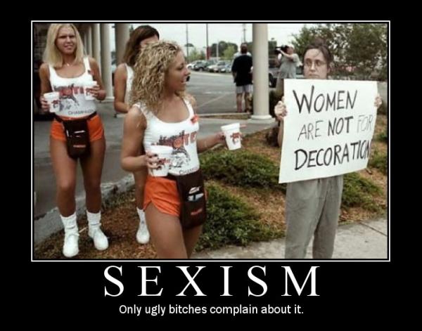sexism motivational poster