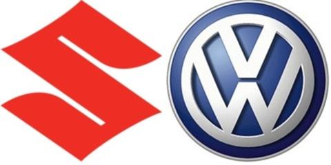 logos VW e Suzuki