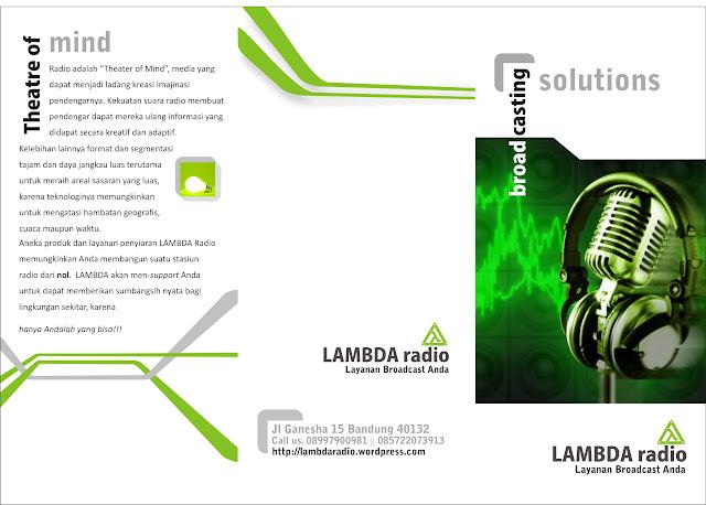 Brosur Lambda Radio