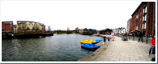 Exeter Quayside.