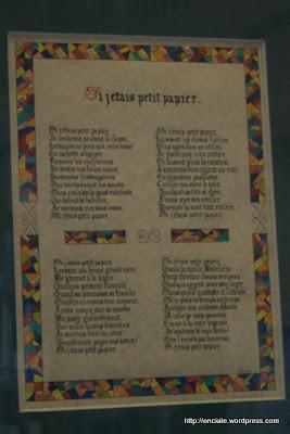 calligraphies et enluminures exposées à Jodoigne