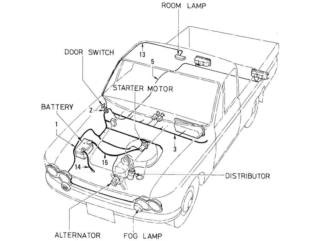 Diagram Alternator Wiring Diagram Datsun Full